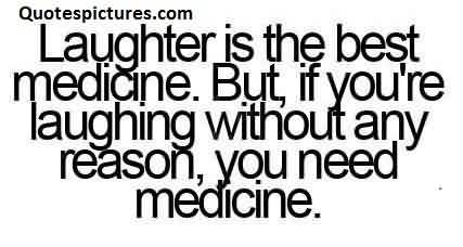 Best funny Facbook status Quotes - Laughter is the best medicine