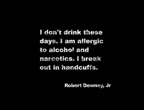 Best Funny Quotes - I don't drink these days