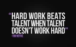 Best Life Quotes - Work hard