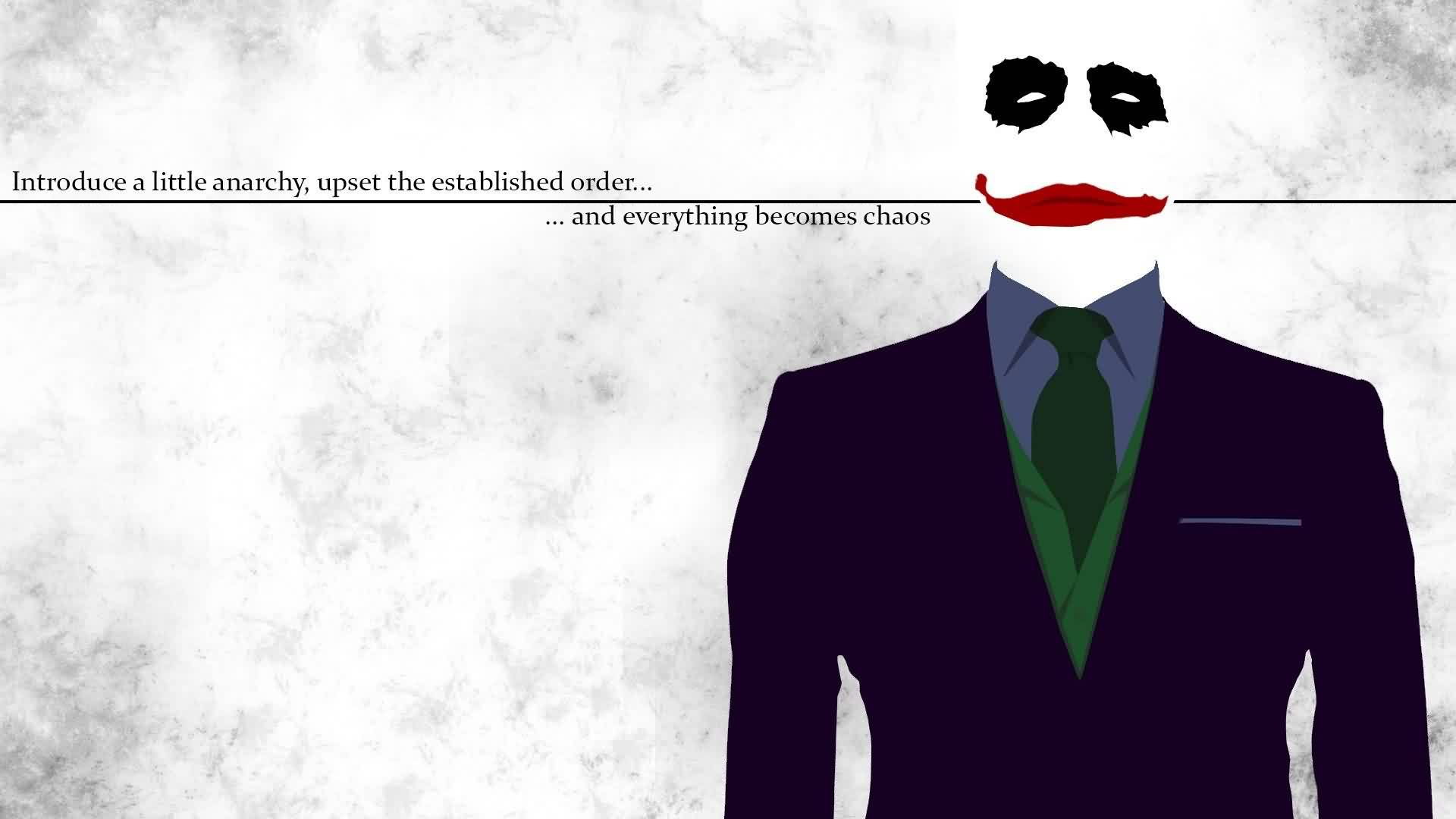 Chaos Quote ~Introduce A Little Anarchy, Upset The Established order And Everything Becomes…… Chaos