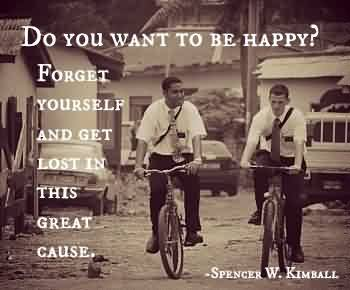 Charity Quote By Spencer W. Kimball~ Do you want to be happy..