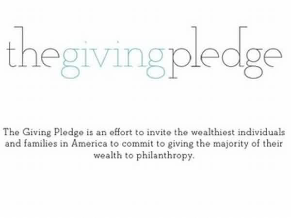 Fabulous Charity Quote ~ The giving pledge
