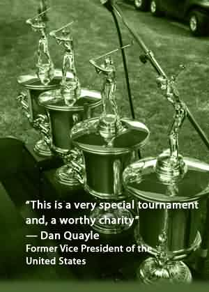 Famous Charity Quote by Dan Quayle~ This is a very special tournament and , a worthy charity.