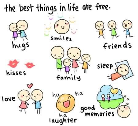 Famous Quotes about Life Image - The best things in Life are