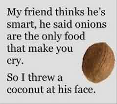 Funny Facebook Quotes - My friend thinks he's smart