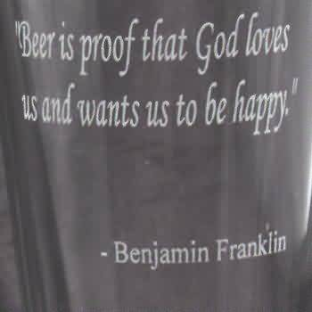 God Loves Us Quotes Impressive Funny Quotes Images Beer Is Proof That God Loves Us And Want Us To