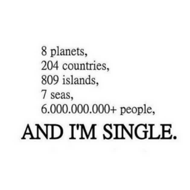 Funny tumblr Quotes - I am single
