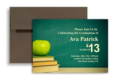 Good Graduation Quote ~Please Join Us In Celebrating The Graduation Of Ava Patrick