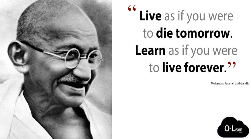 Gandhi Quotes Live as If You Were to Die