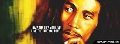 Nice Celebrity Quote ~ Love the life you live , live the life you love.