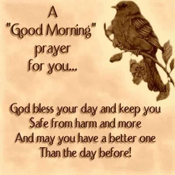 Nice  Church Quote ~ A good morning prayer for you…