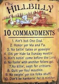 Nice Church Quote ~ The Hillbilly