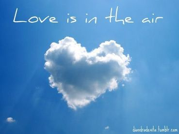 Nice Clarity Quote ~ Love is in the air..