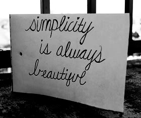 Nice Clarity Quotes~ Simplicity is always Beautiful