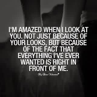 Nice Graduation Quote ~I,m amazed when i look at you …………