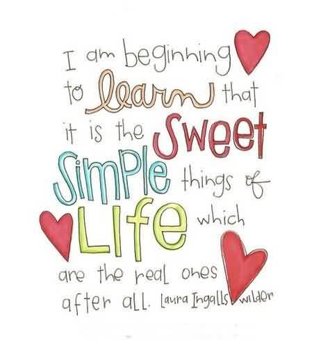Nice Life Quotes - Simple things of Life