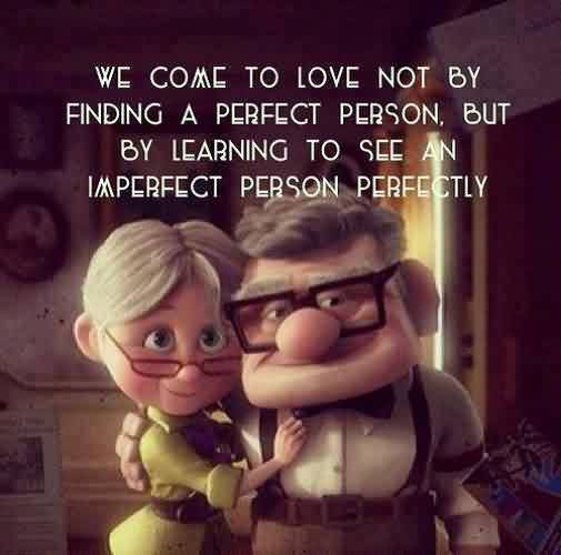 Perfect Life Quotes Image - Learn to see an imperfect person perfectly