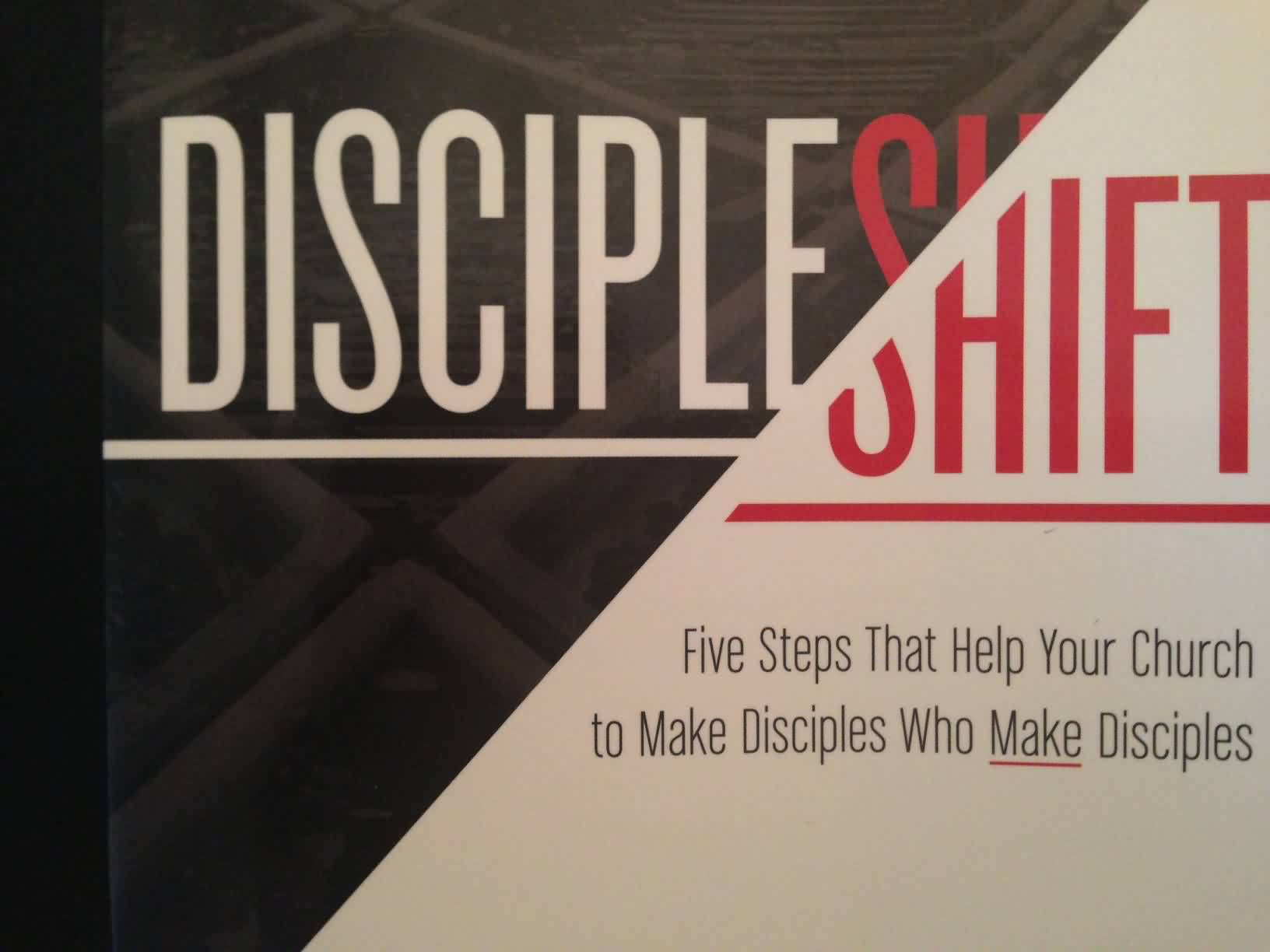 Popular Church Quote ~ Discipleshift..