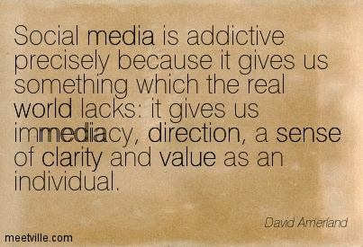 Popular Clarity Quote by David Amerland~ Social media is