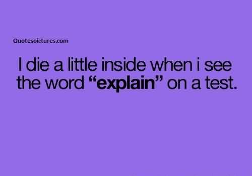 Short Funny Quotes For Facebook – I Die A Little Inside When ...
