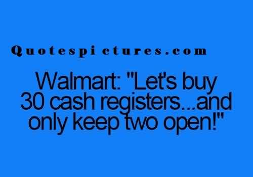 Short funny tumblr Quotes - Let's buy 30 cash registers