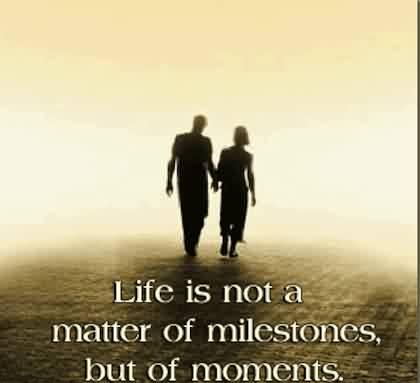 Short Life moments Quote Image - Life is matter of moments
