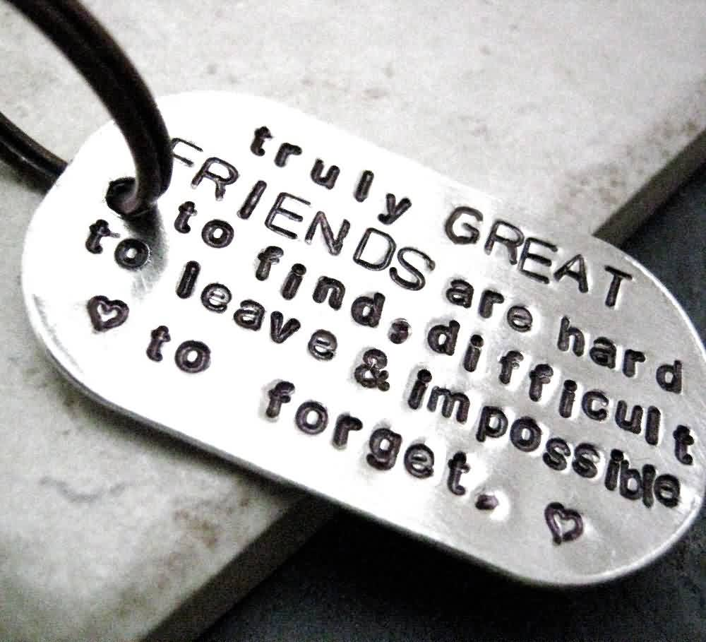 True Friendship quotes about Life Image - True great friendship