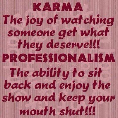 Welcome To The Karma Cafeeres No Mean You Will Get Served
