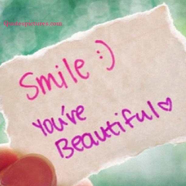 Be Your Own Kind Of Beautiful Smile Quotespictures Com