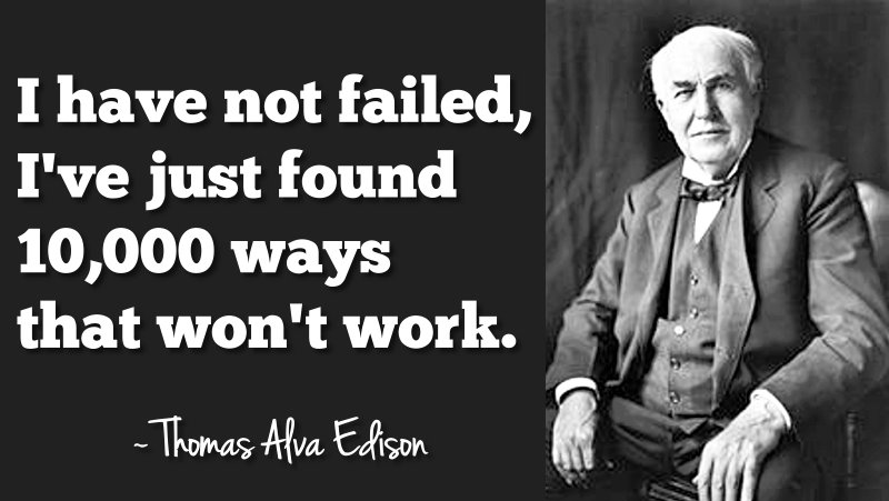 Famous Motivational Quote About Hard Work By Thomas Alva Edison I