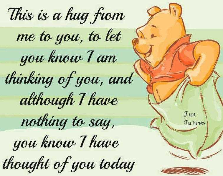 Cute Hug Quotes – Hug From Me To You - Quotespictures.com