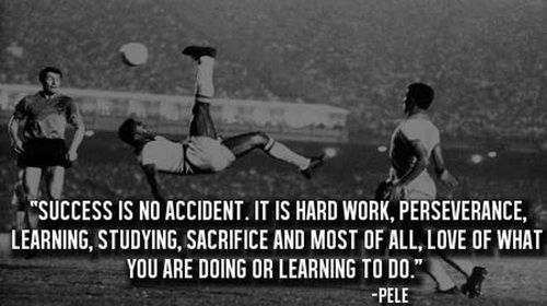 Motivational Sports Quote About Success By Pele Success Is