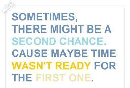 second chance quote