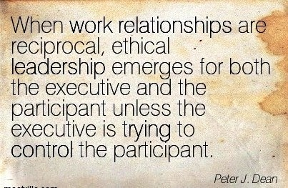 ethical leadership in j j response to Leaders of this style often have high ethical and moral standards (charry, 2012) 29 skills theory  barrett, d j (nd) leadership communication: a .