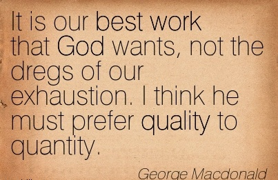 Quotes About Quality Work