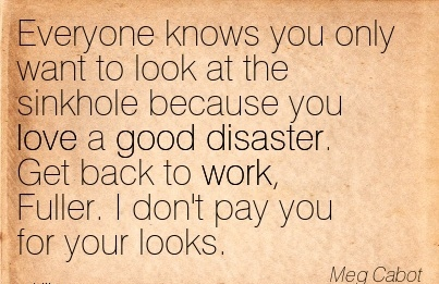 nice-work-quote-by-meg-cabot-get-back-to-work-fuller-i-dont-pay-you-for-your-looks.jpg