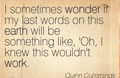 work-quote-by-quinn-cummings-i-sometimes-wonder-if-my-last-words-on-this-earth-will-be-something-like-oh-i-knew-this-wouldnt-work.jpg