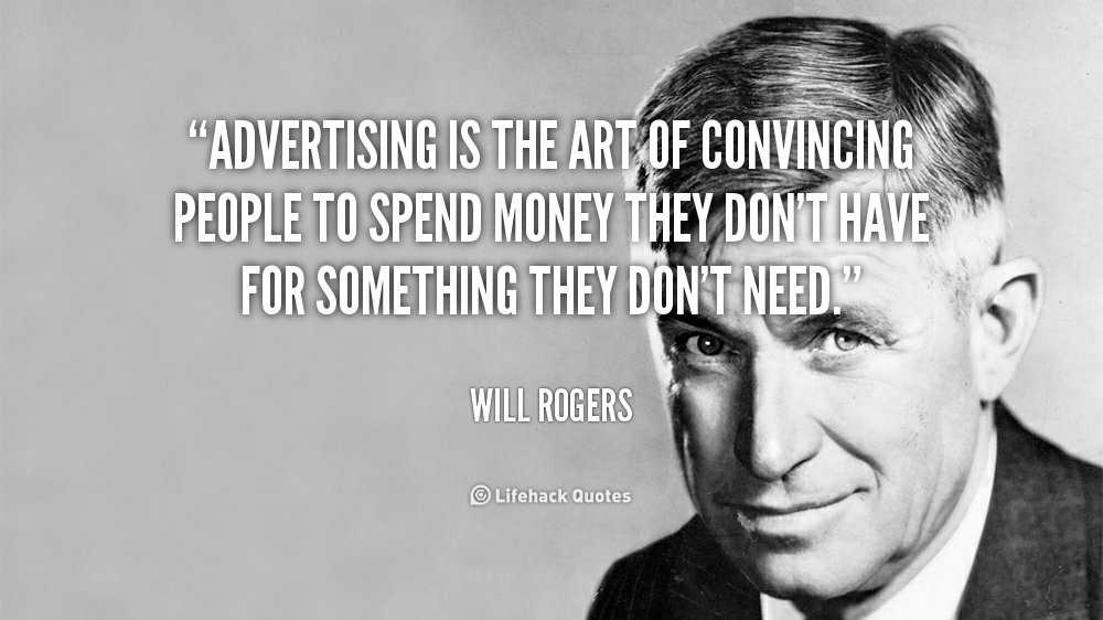 Advertising Quotes Pictures, Quotes Graphics, Images ...