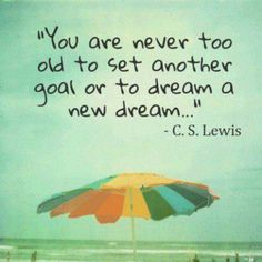 By C.S. Lewis, Set Another Goal