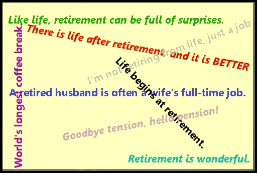 By Retirement Quotes, Full Of Surprises