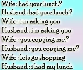 best funny quotes pictures about husband and wife let s go for