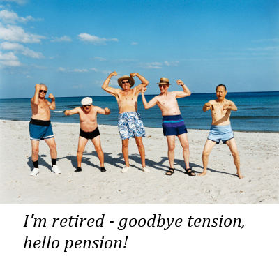 Goodbye Tension We Are Enjoy, By Retirement Quotes