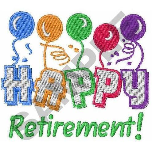 Happy Retirement Party Wishing Card