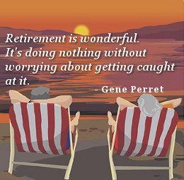 It's Doing Nothing Without Worrying, By Gene Perret