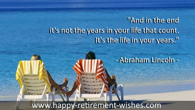It's The Life In Your Years, By Abraham Lincoln