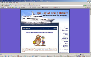 Joy Of Being, By Retirement Quotes
