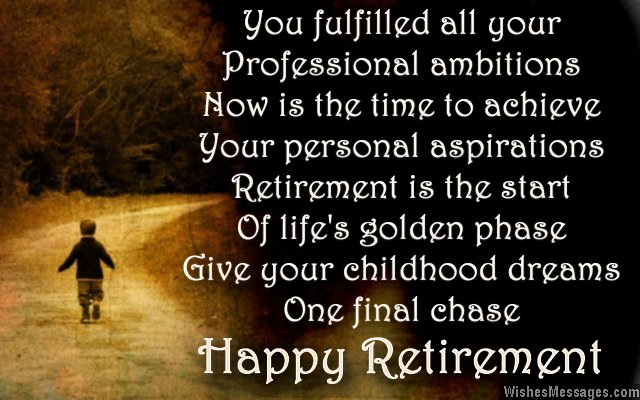 Now Is The Time To Achieve, By Happy Retirement Wishes