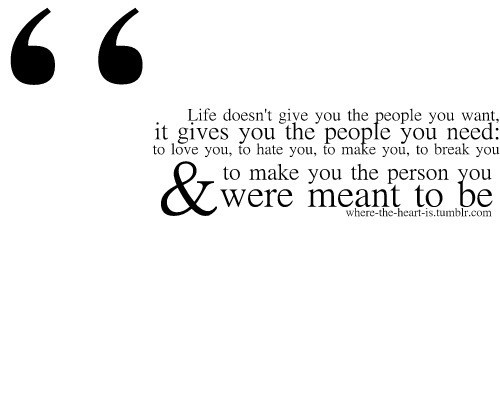 You Were Meant To Be,  By People Quotes