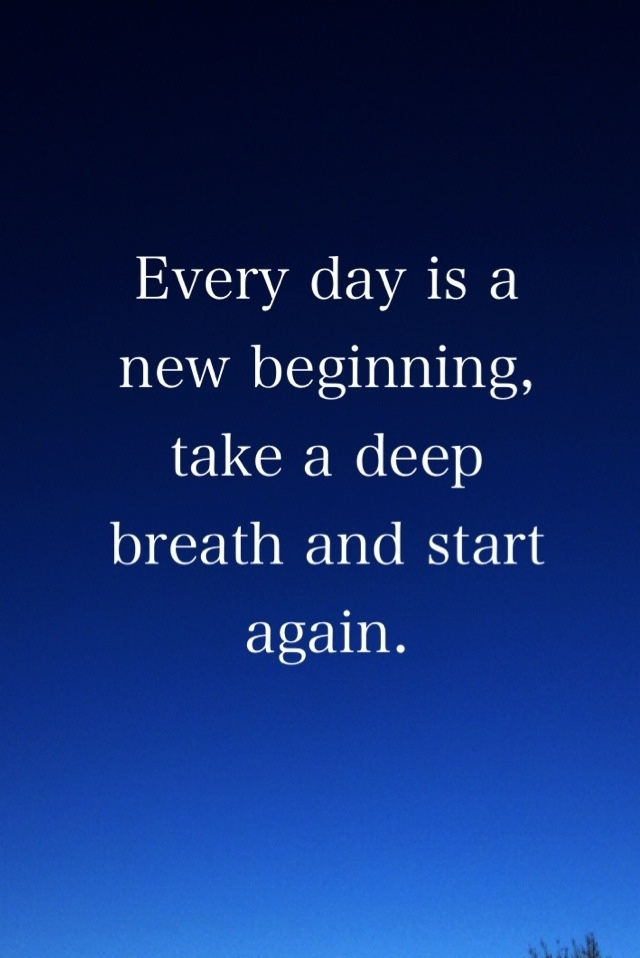 essay on everyday is a new beginning