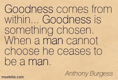 Anthony Burgess football quote
